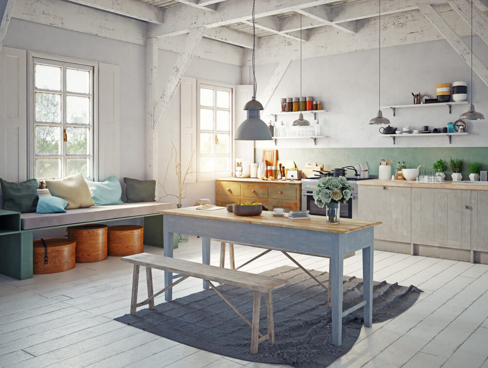 Country Kitchen Paint