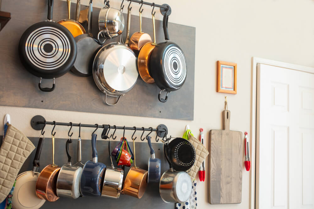 Pot Hangers and Kitchen Shelves (1)