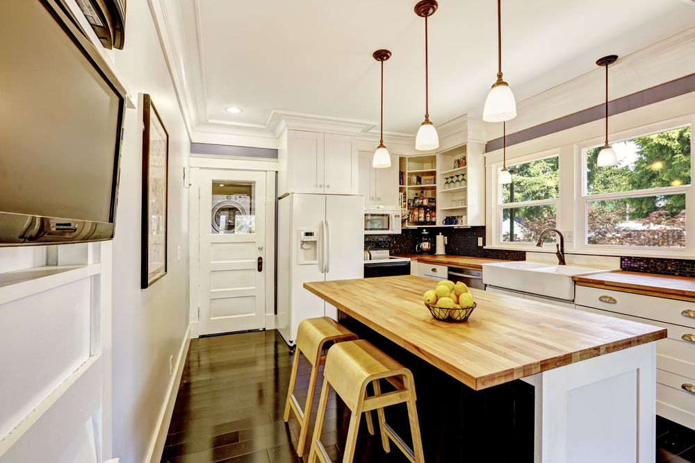Hardwood Kitchen