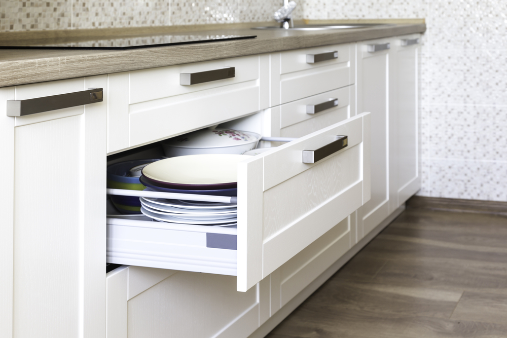 Rolling Kitchen Shelves